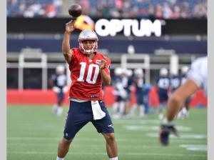 Jimmy G at 2015 Training Camp