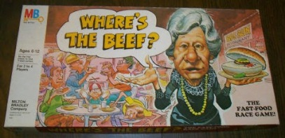 Asking the NFL to play Where's The Beef?