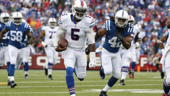 New England vs Buffalo: Tyrod Taylor could be a headache in the making