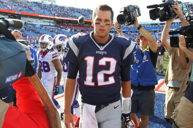 Brady and the Patriots Teach the Bills: The Sounds of Silence