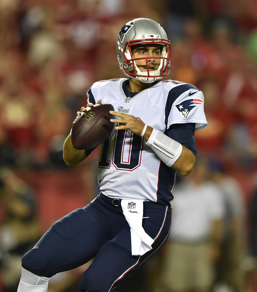 Garoppolo will start in 2016, but not for Patriots