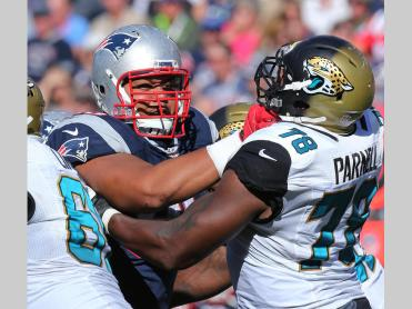 The OL Has Outperformed Expectations (Photo: David Silverman nepatriots.com)