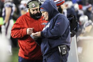 Defensive Coordinator Matt Patricia and Bill Belichick ( Photo: salemnews.com)