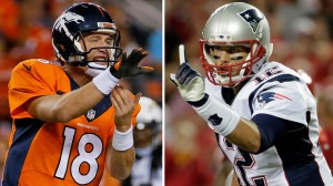 Payton Manning vs Tom Brady (Photo: Forbes.com)