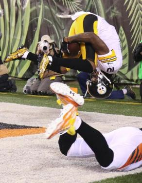 I Got It Coach - Pittsburghs Martavis Bryant traps the ball against his rear end for a TD