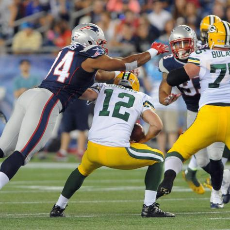 New England Patriots vs Green Bay Packers