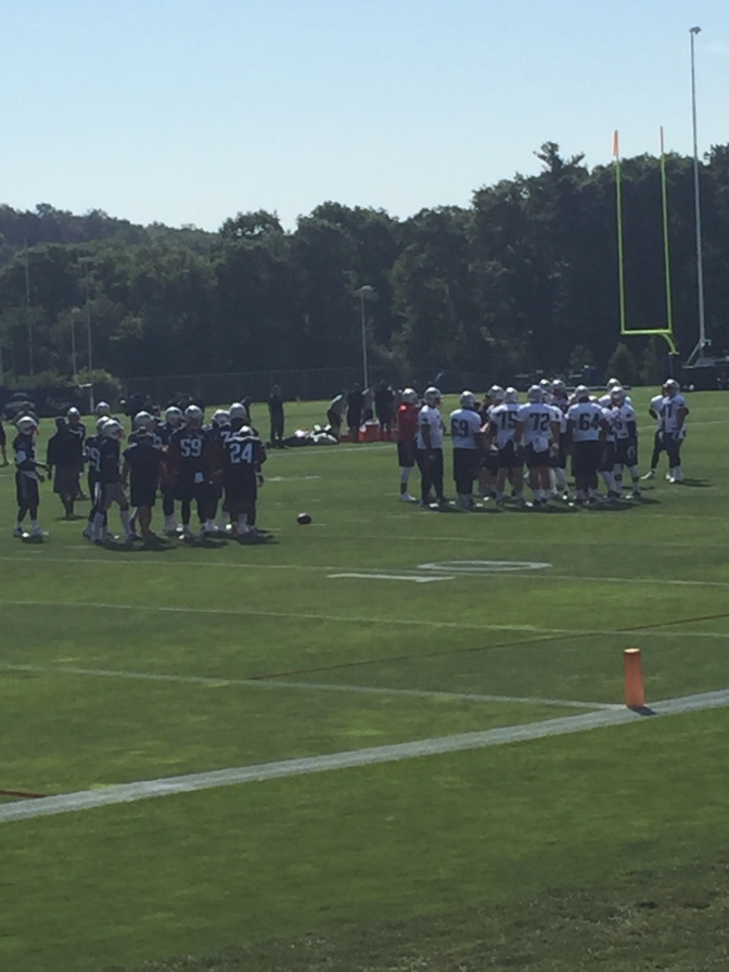 Patriots Training Camp: Day One Observations