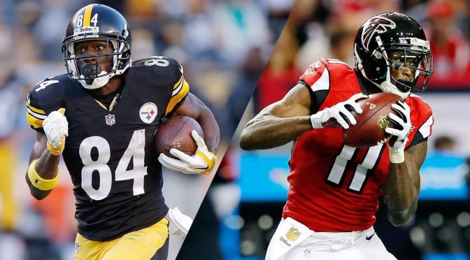 Who would you rather? Julio Jones or Antonio Brown.